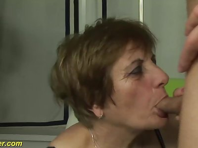 hairy grandmas first porno shooting