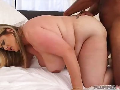 Busty BBW MILF Kimmie Kaboom is Sucking Dick to Win Votes