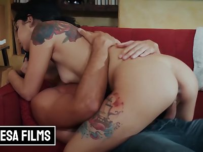 bellesa films - super cute alt whore Gina Valentina gets fucked