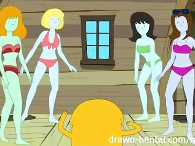 Adventure Time hentai - Bikini Babes time!