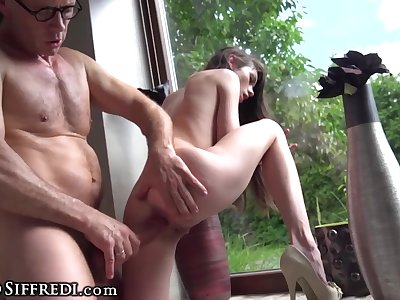 Rocco Siffredi Gets 2 Nasty Teen Sluts All to Himself!
