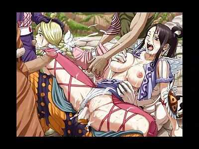 28 pieces of erotic anime images of one piece (ONE PIECE)