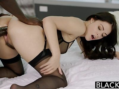 BLACKED British Wife Ava Dalush Loves BBC