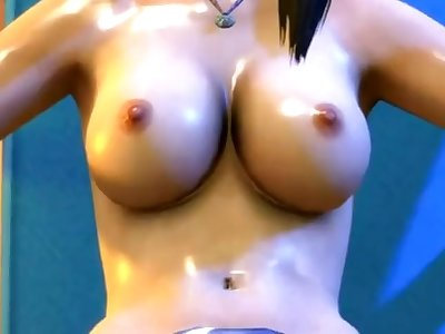 3D Lara Croft orgy and more! (Tomb Raider)